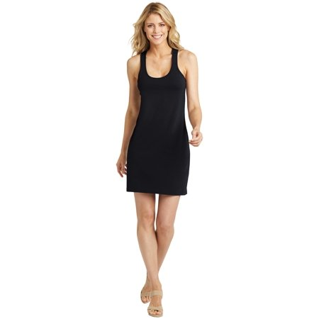 District Made Ladies 60/40 Racerback Dress - Shirred Back Dress
