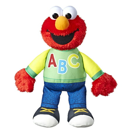 Elmo Deluxe Plush (Playskool Sesame Street Singing ABC's Elmo)