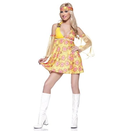 Flower Child Costume  Large  Dress Size 12 14 - image 1 of 1