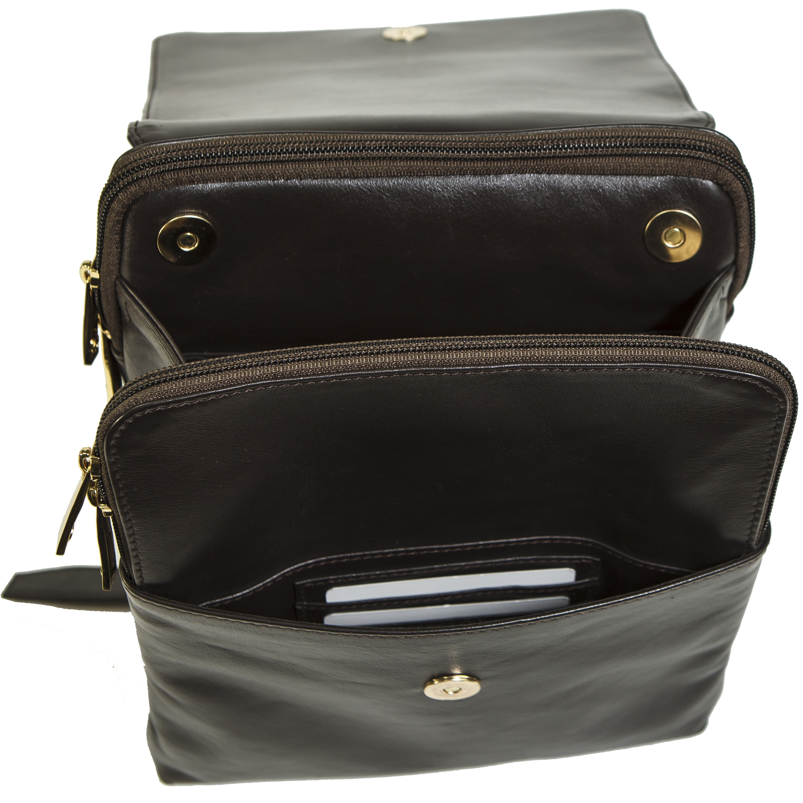 88ceeb5f75 Alpine Swiss - Gila Womens Backpack Purse Organizer Handbag Midsize Verona  Leather - Walmart.com