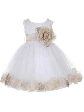 74680b4e9a8d Baby Girls Casual Dresses - Walmart.com