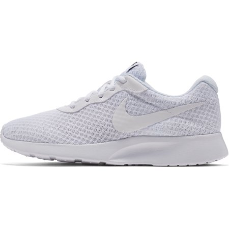 Nike Women's Tanjun White/White Black Running Shoe, US Women's