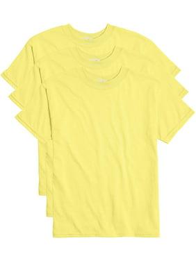 Hanes Boys EcoSmart Short Sleeve Tee Value Pack, 3 Pack, Sizes 6-18