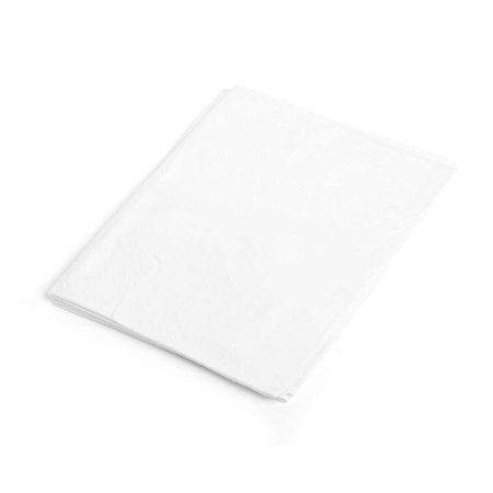 Drape Sheets, 2-Ply Tissue, 40 Inch x 48 Inch, White (Case of 100), Durable full sheet construction, blankets patient in lightweight comfort By MediChoice Ship from