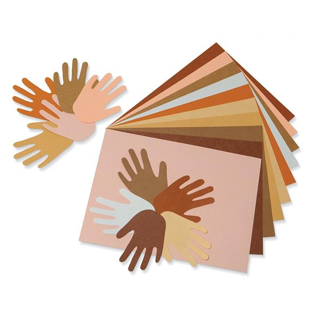 12 x 18 in. Multicultural Construction Paper - Pack of 3