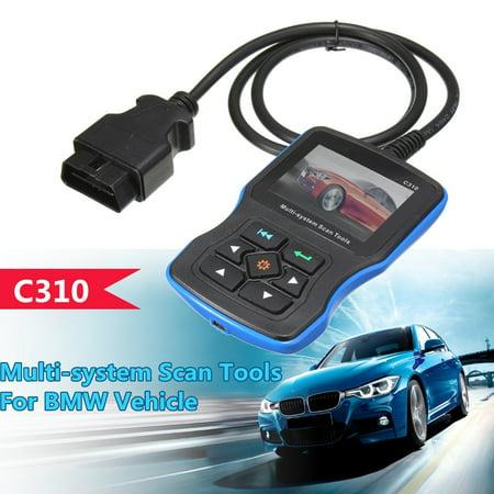 For BMW Creator C310 Multi System OBD2 II Diagnostic Code Reader Scanner Tool   - image 4 of 10
