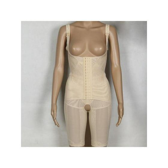 05175704cd9 Womens Lady Full Body Shaper Corset Slimming Waist Underbust Buttock Hip  Cincher Suit Underwear Lingerie