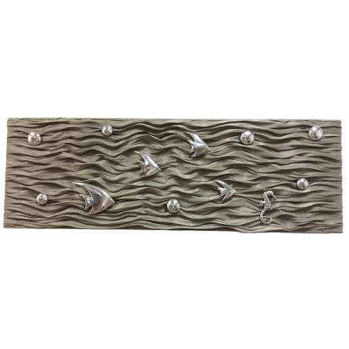 eUnique Decor Fish Ripples Wall Panel A