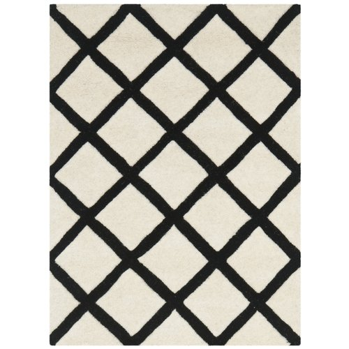 Safavieh Chatham Ivory & Black Area Rug