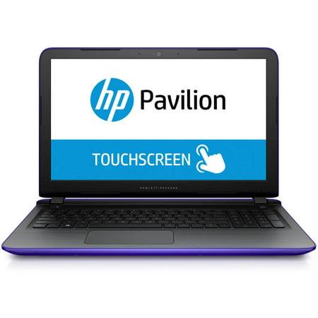 "Refurbished HP Pavilion 15-ab210cy 15.6"" Laptop, Touchscreen, Windows 10 Home, AMD A8-7410 Processor, 12GB RAM, 1TB Hard Drive"