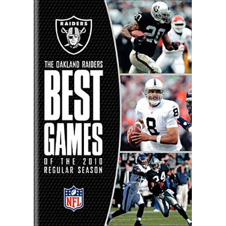 NFL Oakland Raiders: Best Games Of 2010 Season (DVD)