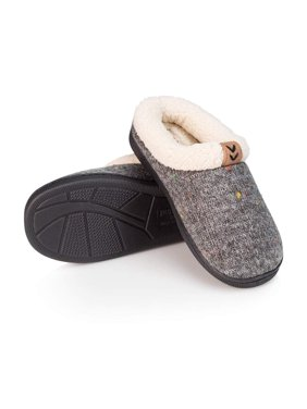 41dea6853ff1d Product Image Pupeez Girls Winter slippers-knitted upper with fuzzy inside  comfort-Little Kid Sizes 11