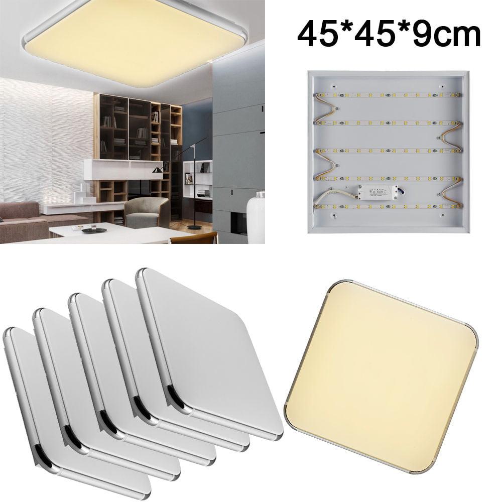 5x 24W Square LED Ceiling Light Living Dining Room Bedroom Corridor Lamp