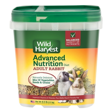 Wild Harvest Advanced Nutrition Diet for Adult Rabbits, 4 lbs. ()