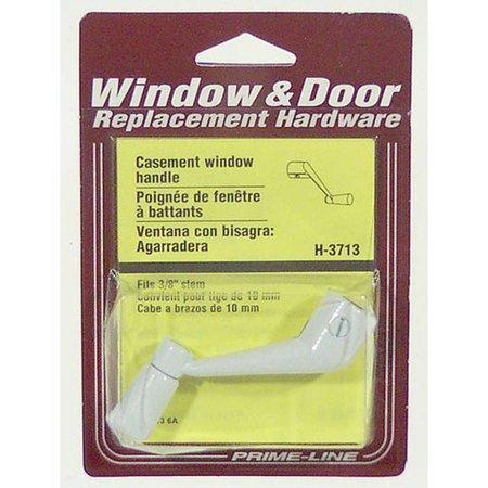 - Prime Line H3713 White Casement Operator Crank Handle