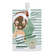 MINISO Deep Sea Mud Mask for Face, Spa Quality Pore Reducer Minimizer, Cleansing Skin Care, 1 Pack