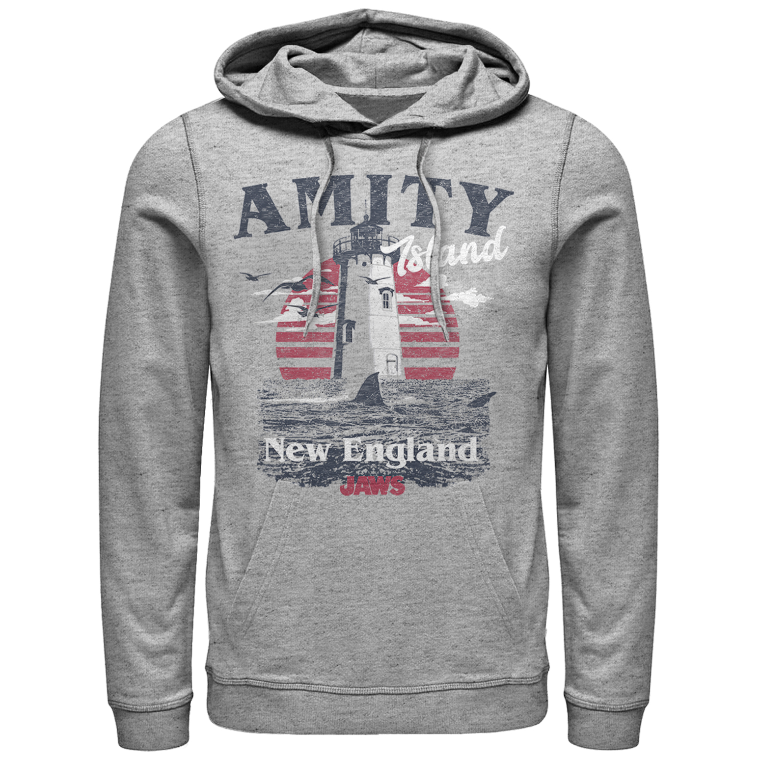 Jaws Men's Amity Island Tourist Lighthouse Hoodie