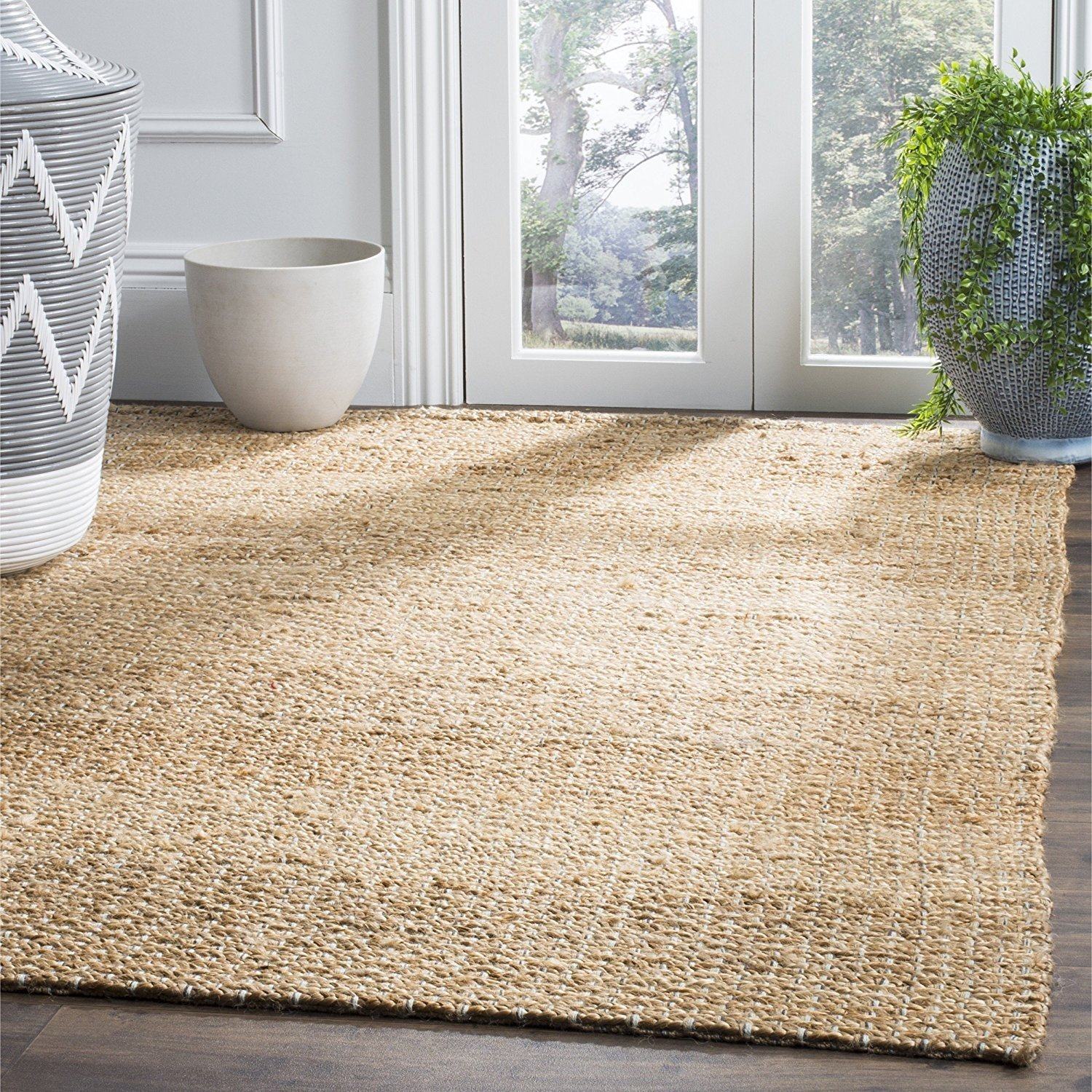 Safavieh Natural Fiber Collection NF452A Natural Sisal Area Rug (5' x 8')