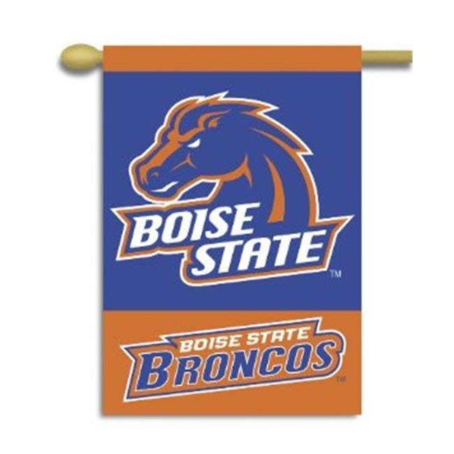 BSI PRODUCTS 96180 2-Sided 28 inch X 40 inch Banner with Pole Sleeve - Boise State Broncos