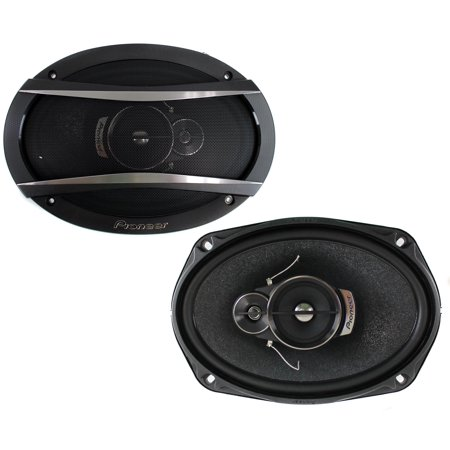 "Pioneer TS-A6966R 6"" x 9"" 3-Way TS Series Car Speakers"