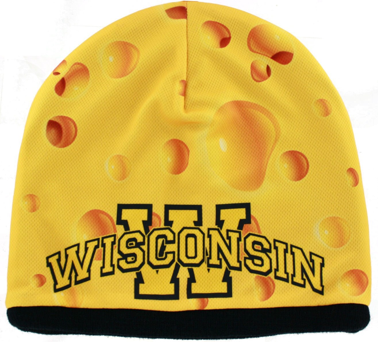 Wisconsin Cheese Fun Beanie Knit Hat