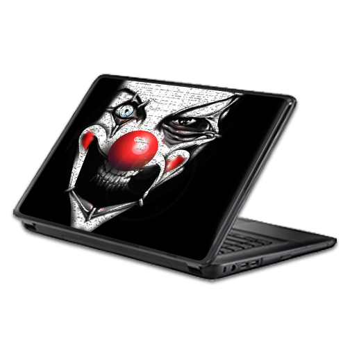 MightySkins Protective Vinyl Skin Decal Wrap for Universal Laptop Apple Asus Acer Dell Lenovo Sony Toshiba 11 13 15 17 sticker cover Evil Clown