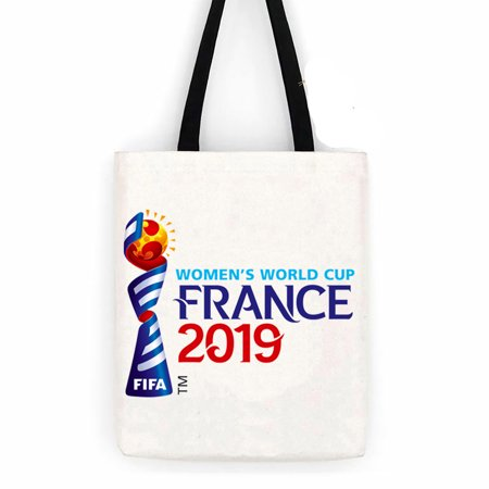 World Cup France 2019 Cotton Canvas Tote Carry All Day