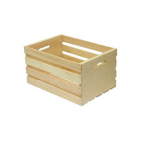 Houseworks Large Wood Storage Crate