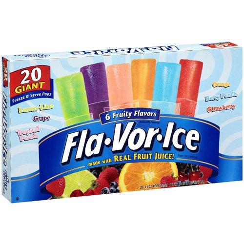 Giant Freeze Pops 072392930920 UPC - Fla...