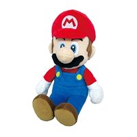 "Little Buddy LLC, Super Mario All Star Collection: Mario 9.5"" Plush"