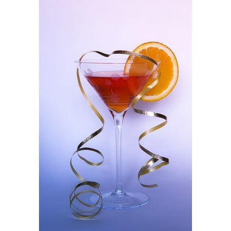 Grand Orange Liqueur - LAMINATED POSTER Beverage Cocktail Alcohol Glass Drink Orange Poster Print 24 x 36