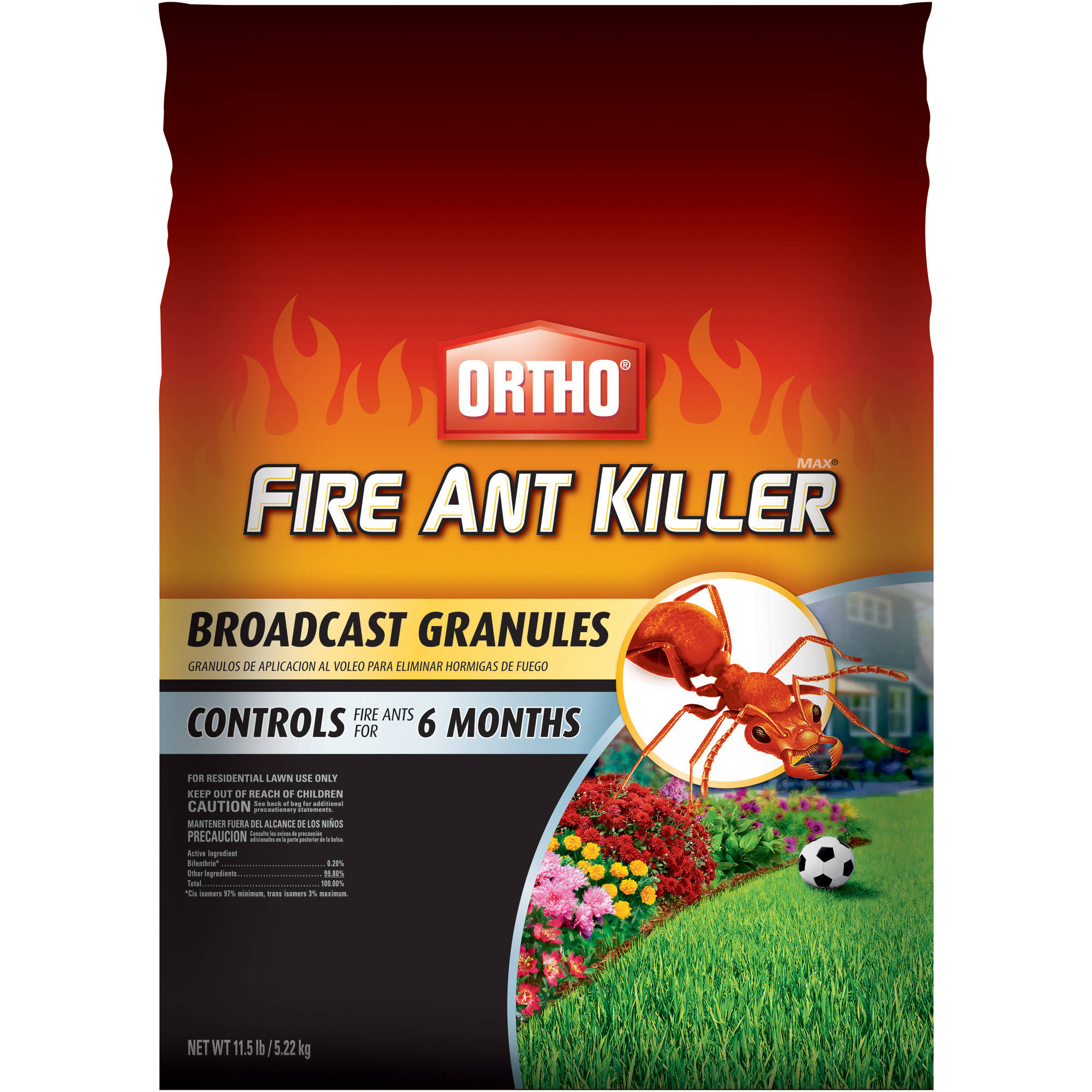 Ortho MAX Fire Ant Killer Broadcast Granules, 11.5 lbs