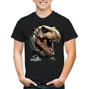 Jurassic World Tear Through Apparel T-Shirt - Black