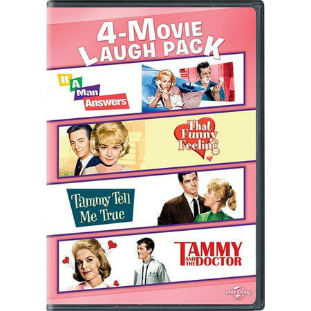 4 Movie Laugh Pack  If A Man Answers   That Funny Feeling   Tammy Tell Me True   Tammy And The Doctor