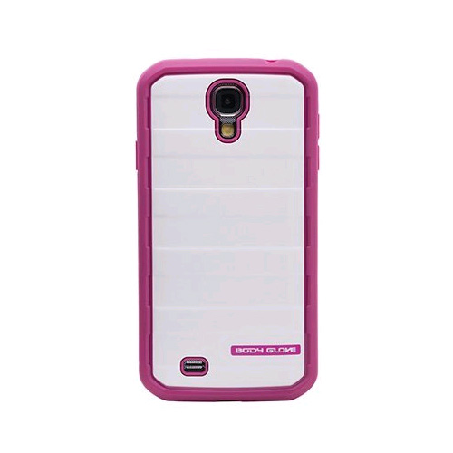 Body Glove Case Cover Samsung Galaxy S4 (Raspberry White Gold Glitter) 9429302 by Body Glove