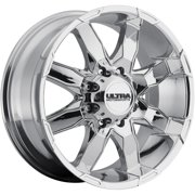 Ultra Phantom 16 Chrome Wheel / Rim 8x6.5 with a -6mm Offset and a 125 Hub Bore. Partnumber 225-6881C