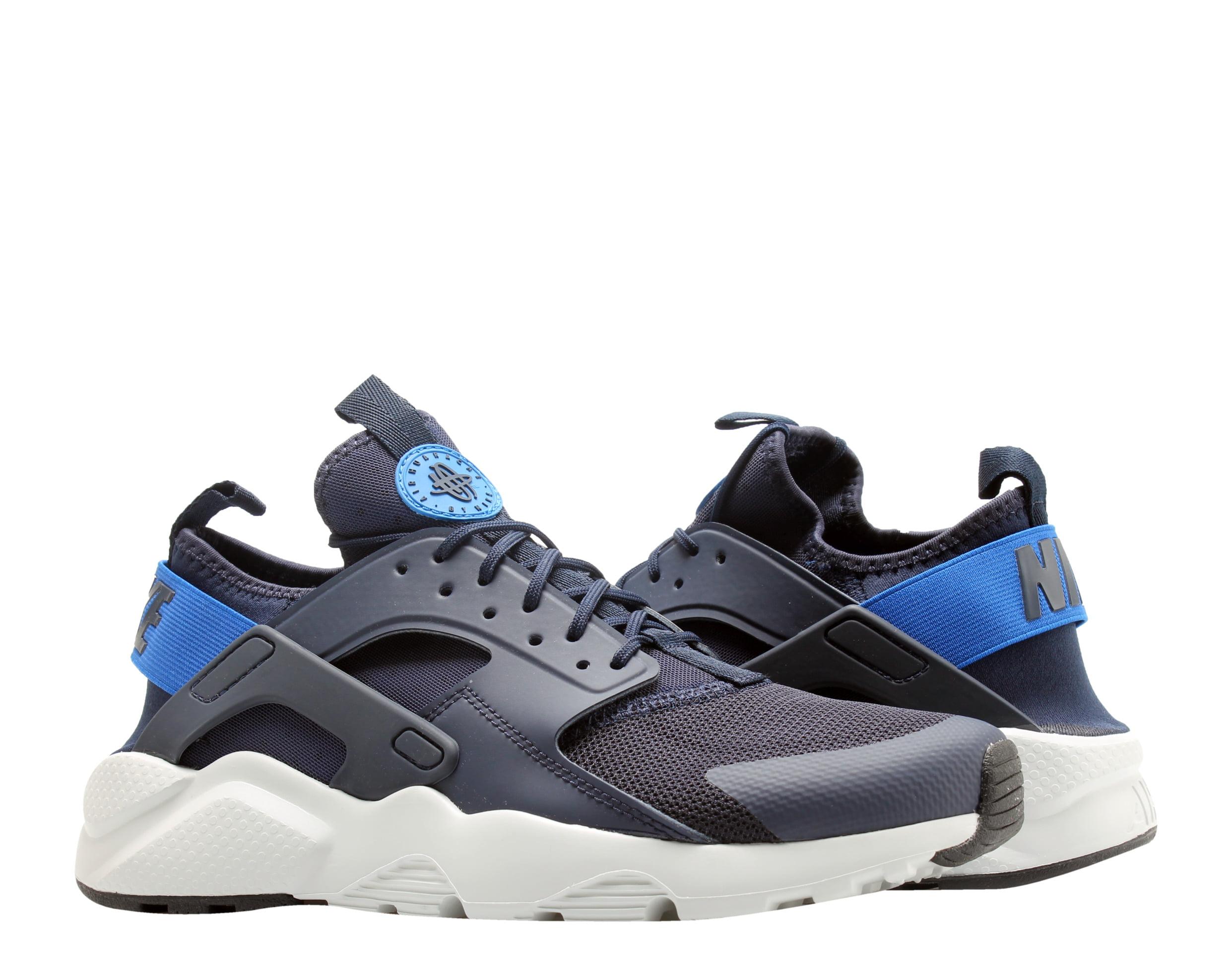 Nike - Nike Air Huarache Run Ultra Obsidian/Signal Blue Men's Running Shoes 819685-412 - Walmart.com