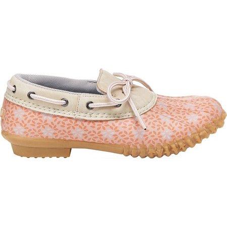 Women?s Gwen Floral Print Slip-on Duck Shoes