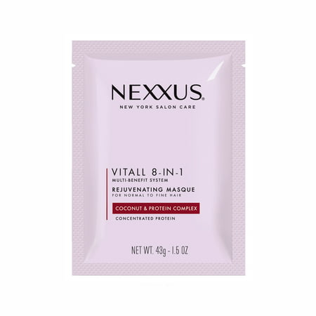 (2 Pack) Nexxus Vitall 8-in-1 Masque for All Hair Types 1.5 oz - Masques Horreur-halloween