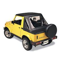 - Bestop 53361-01 Suzuki Samurai Sprint Fastback Style Replace-A-Top with Factory Full Steel Doors, Black