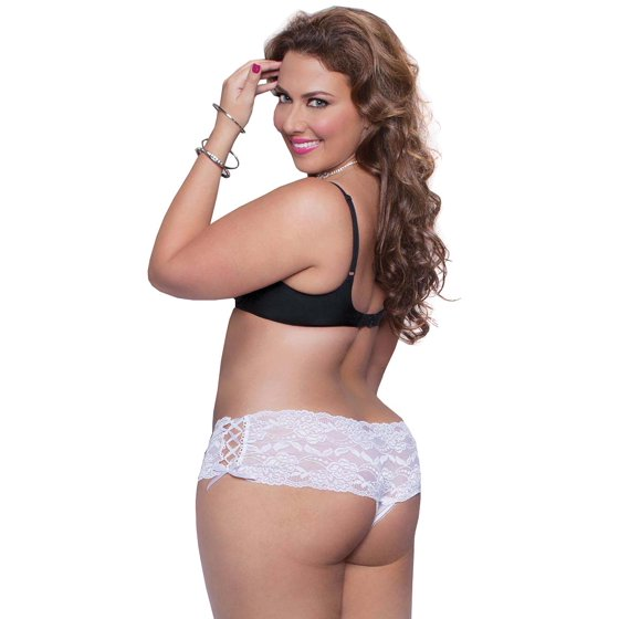 2c58b1cea Seven Til Midnight - Plus Size Full Figure Sexy Side Lace-Up Thong ...