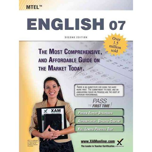 MTEL English 07 Teacher Certification exam