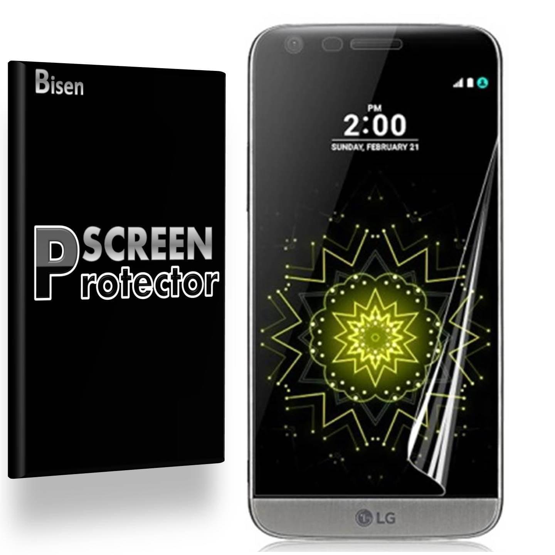 LG G5 (2016 Release) [4-Pack BISEN] Ultra Clear Screen Protector, Anti-Scratch, Anti-Shock