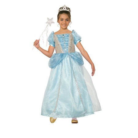 Girls Princess Holly Frost Halloween Costume