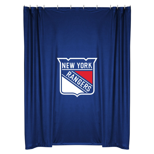 Sports Coverage Inc. NHL New York Rangers Shower Curtain