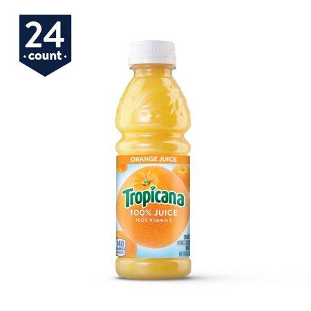 Tropicana Orange Juice, 10 Ounce Bottles (Pack of