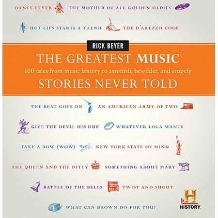 The Greatest Music Stories Never Told : 100 Tales from Music History to Astonish, Bewilder, and