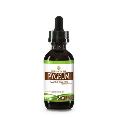 Pygeum Tincture Alcohol Extract, Wildcrafted Pygeum Africanum Overall Health and Wellness 2 oz