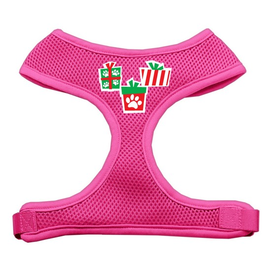 Presents Screen Print Soft Mesh Harness  Pink Extra Large