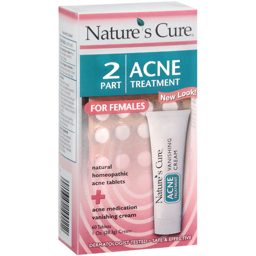 Nature's Cure: 2 Part Acne Treatment for Females